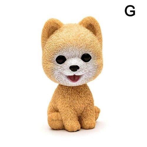 Car Style Cute Dog Doll Shaking Head Nodding Dog For Car Bedroom Decor Ornament