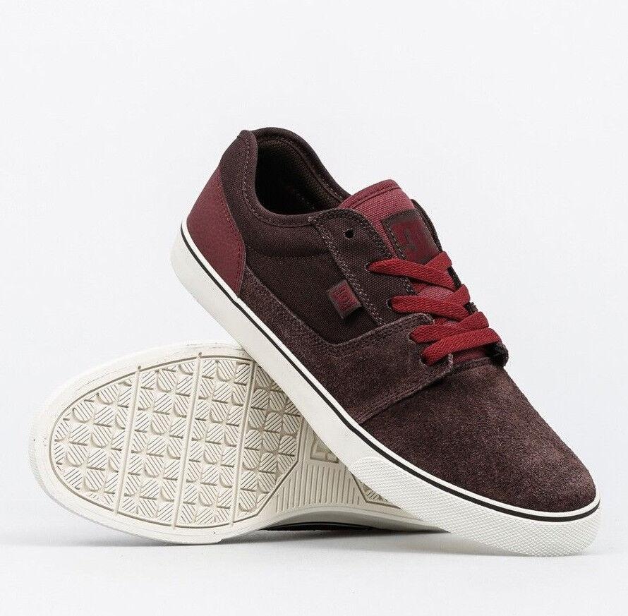 DC SHOES  scarpe uomo Tonik snekaers dk chocolate oxblood skate snekaers Tonik daba8a