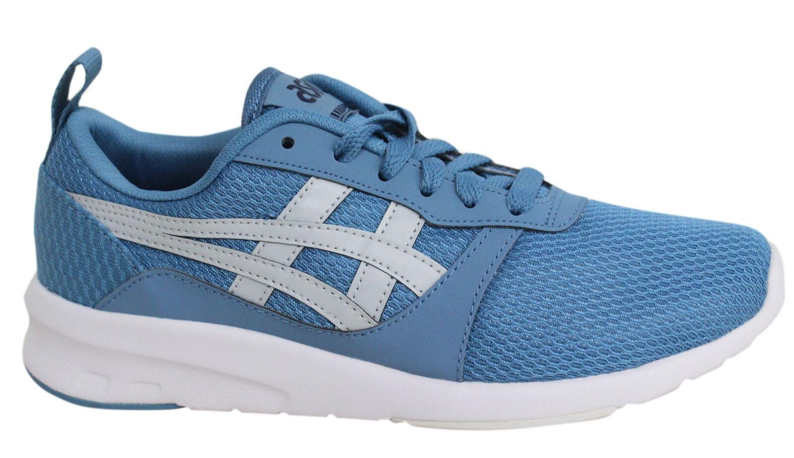 Los últimos zapatos de descuento para hombres y mujeres ASICS LYTE Basculador CORDONES AZUL CIELO Sintético Zapatillas Hombre h7g1n 5696