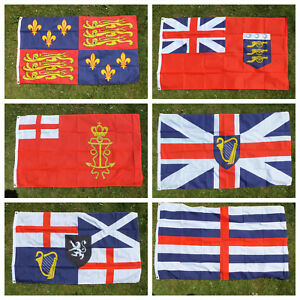 Tudor-Stuart-5x3-Flag-Royal-Navy-English-naval-History-Ship-Boat-Ensign-British