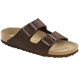 Birkenstock Arizona Nubukleder Schuhe habana 052533 Sandalen Weite schmal