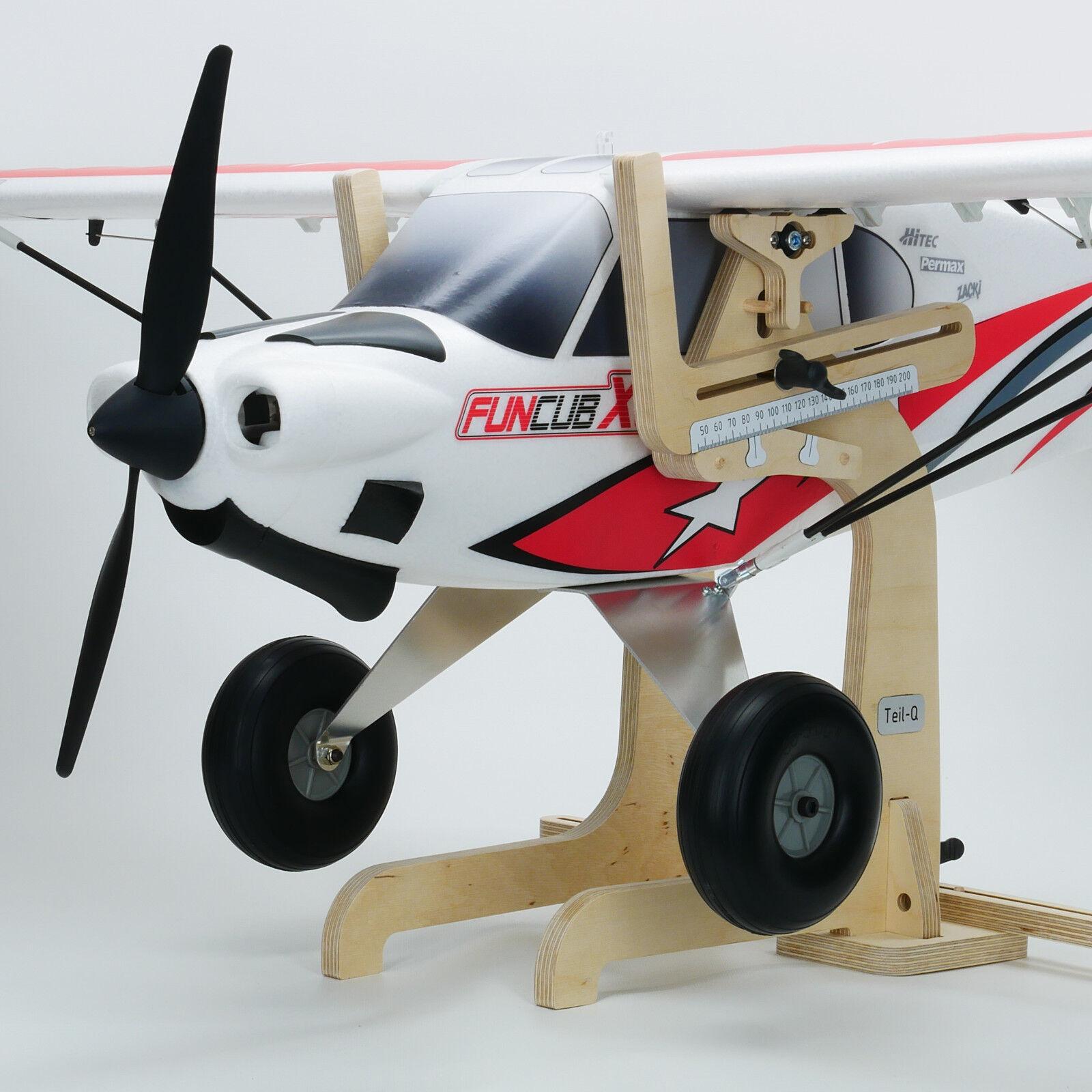 Parte-Q con rodamiento de bolas difícil punto báscula L, para vela avión, f3b, vuelo de arte