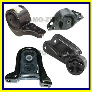 Engine-Motor-amp-Trans-Mount-Set-4PCS-1990-1992-for-Nissan-Stanza-2-4L-for-Manual