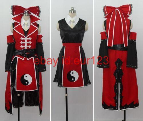 Touhou Project Reimu hakurei Cosplay Costume