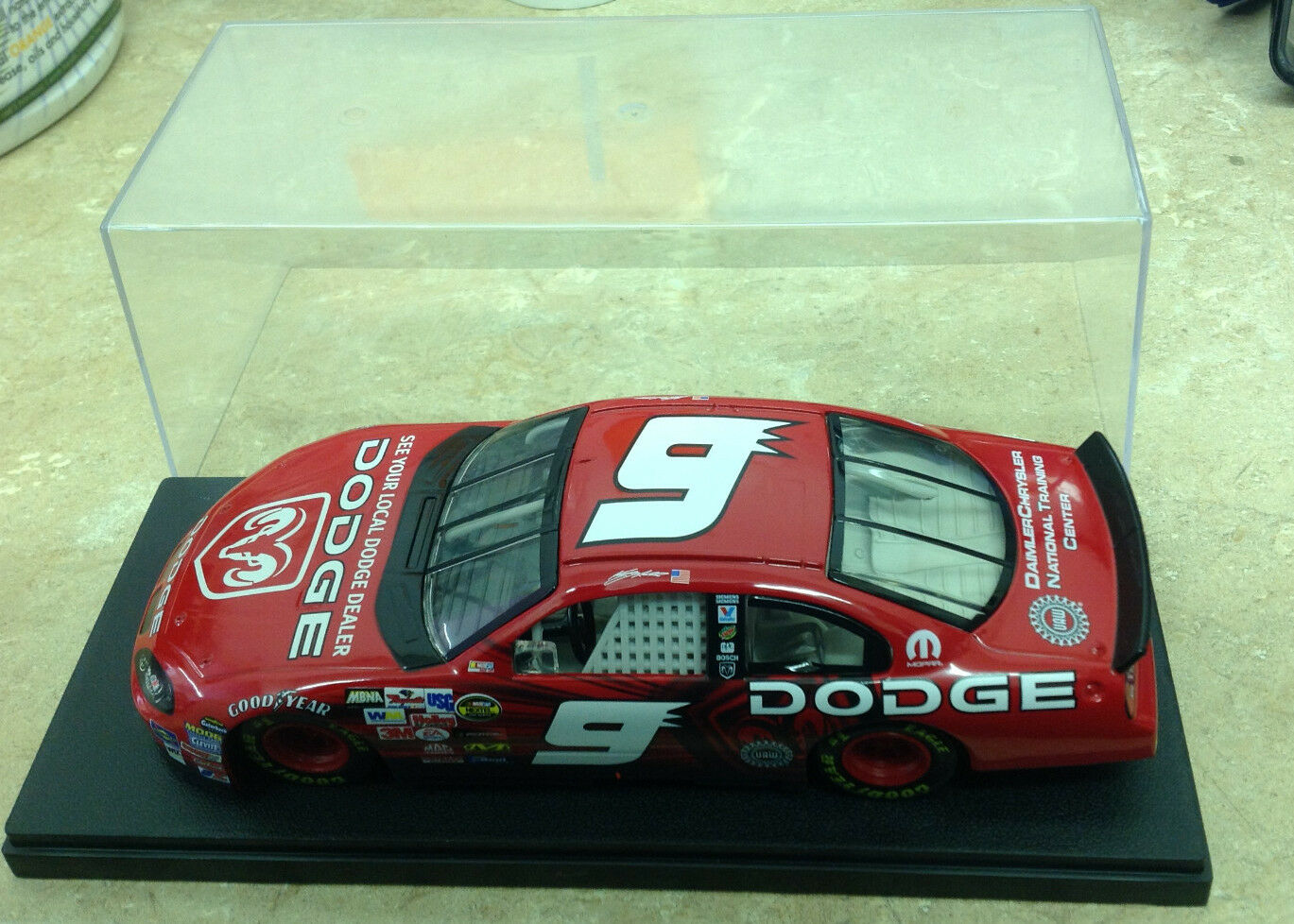 Kasey Kane  9 Dodge Dealers /Pit Cap Car 2004 Intrepid Action Limited W/ Case
