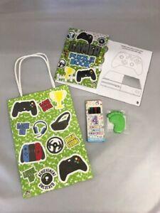 Childrens papier Gamer Bargain Pré Rempli Party Sacs Enfants Cadeaux D/'anniversaire Favors