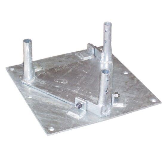 ROHN BPH45G Hinged Base Plate Base Tilt Section Assembly for ROHN 45G Tower. Buy it now for 888.80