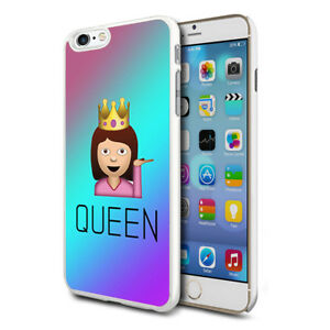Details about Premium Design Hard Case Cover for Various Mobiles - Queen  Emoji
