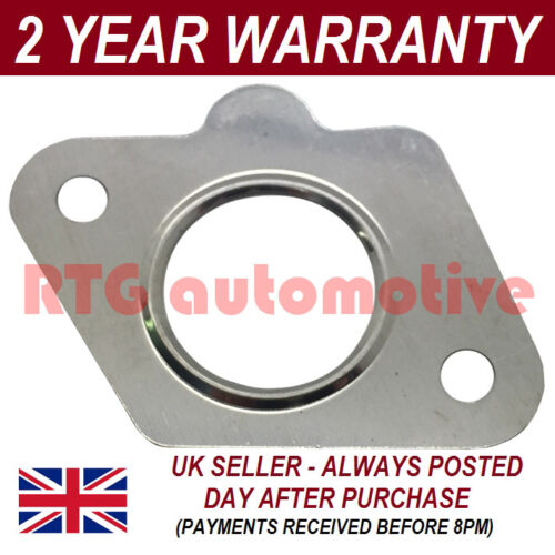 FOR PEUGEOT 207 1.6 HDI 90 2006-2011 EGR VALVE SEAL GASKET METAL