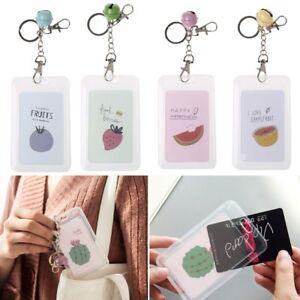 image is loading cute fruit credit card holder keyring key chain - Card Holder With Keyring