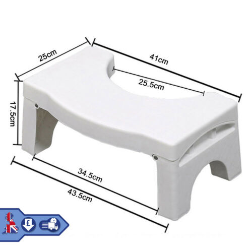 Portable Toilet Squat Step Foldable Stool Potty Bathroom Aid Feed Support Kids