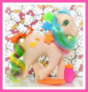My-Little-Pony-MLP-G1-VTG-QUACKERS-Jewel-Gem-Twinkle-Eye-Eyed-Sun-Pick-COMB