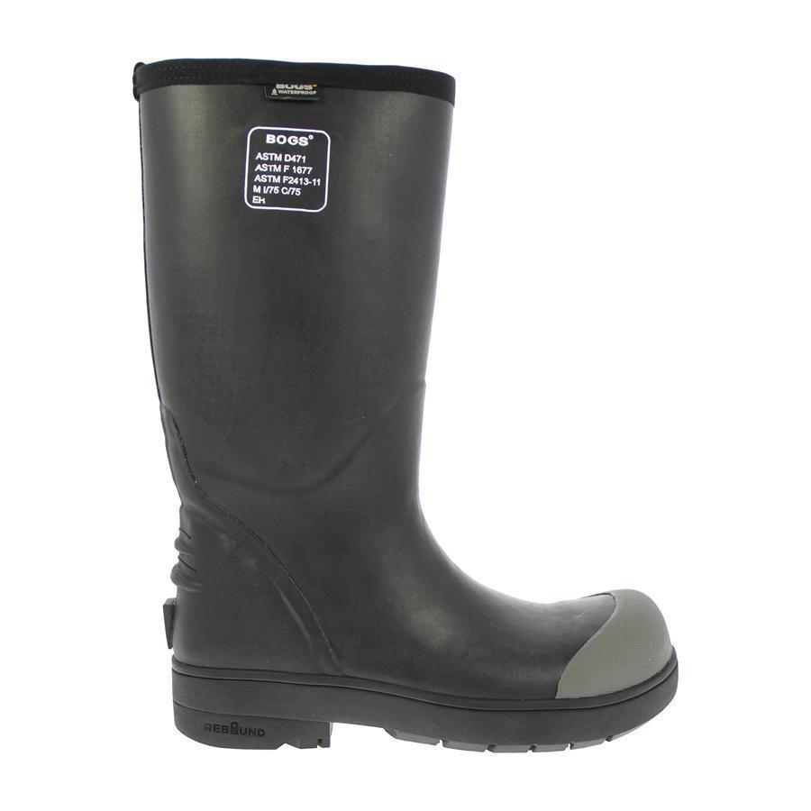 BOGS Women's Food Food Food Pro Steel Toe Waterproof Black Boots 71347-001 04664d