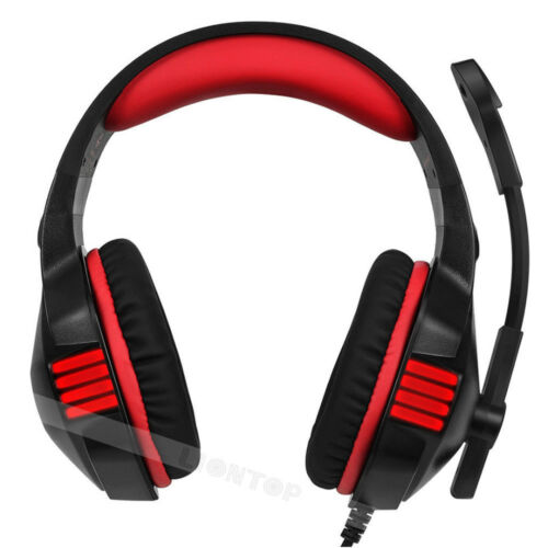 3.5mm Gaming Headset Mic Headphones Stereo Bass for PS3 PS4 Xbox ONE 360 Laptop