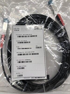 Cable 1 Meter SEALED NEW Cisco Original SFP-H10GB-CU1M= Twinax 10GBASE-CU SFP