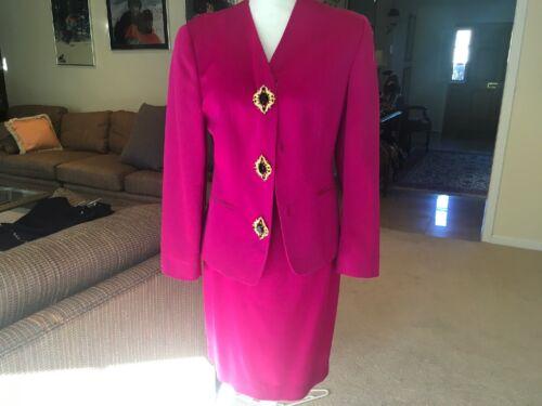 Jenny Italian Fushia Suit 36
