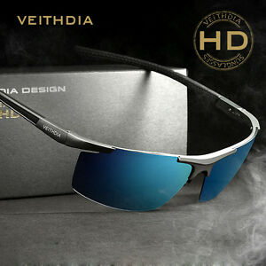 f037804efee Image is loading Aluminum-Magnesium-Polarized-Sunglasses-Sport-Men-Driving- Glasses-