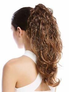Hair-Piece-Braid-Wild-Curly-Curls-Felted-Afro-Rasta-Braun-Blonde-Strands-50-CM