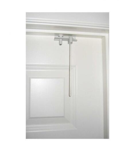 Child Kid Proof Interior Top Entrance Door frame latch slide Locker Lock