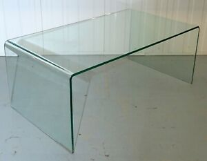 Details About Modern Glass Coffee Table