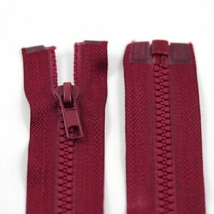 RED-10-039-039-32-039-039-INCH-CHUNKY-NO-5-OPEN-END-ZIPS-12-SIZES-PLASTIC-ZIPPER-NZ1177