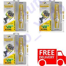 XADO EX120  3 x GENUINE BOX Diesel Engine Oil Additive Treatments  Saves Fuel