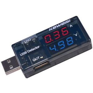 LED-USB-Current-Voltage-Charging-Power-Detector-Tester-Volt-Meter-Ammeter