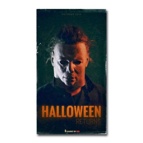 Halloween Horror Movie Art Canvas Poster 8x14 24x43 inch