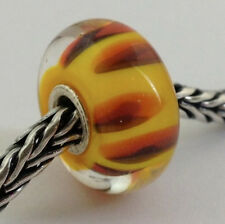 Authentic Trollbeads Retired Red Shadow (E) Bead Charm, 61310 New