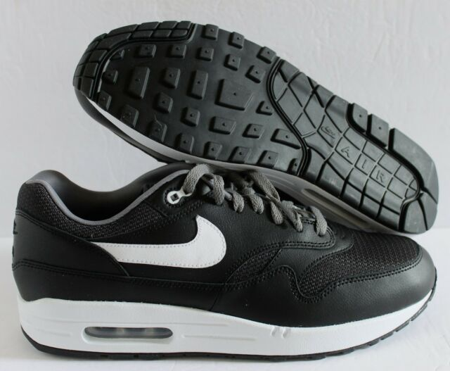 Nike Air Max 1 Id Grey White Sz 11 Mesh Toe 943756 972 For Sale