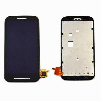Für Motorola Moto E XT1025 Compete Frame LCD Display & Touchscreen Schwarz