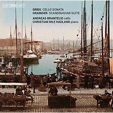 Grieg Grainger violoncello e pianoforte di A. Brantelid, C. Ihle Hadland SACD