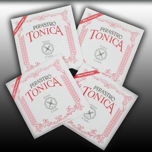 Pirastro-Tonica-4-4-Violino-Corde-SET-violino-Strings-SET