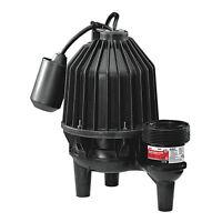 Ace Sewage Ejector Pump 1/2 Hp 6420 Gph Apel50