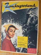1958 ZONDAGSVRIEND 31 ANTHONY PERKINS,BEIROET,ZWEEFVLIEGEN,HOEDJES EXPO,GERMAR,