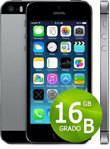 APPLE-IPHONE-5S-16GB-NERO-GRADO-B-ACCESSORI-GARANZIA-12-MESI-SPACE-GRAY
