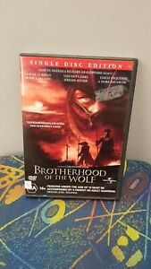 Brotherhood-Of-The-Wolf-DVD-Excellent-Condition