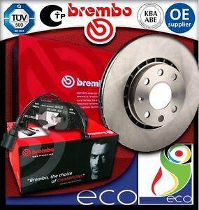 DISCHI-FRENO-E-PASTIGLIE-BREMBO-BMW-SERIE-3-E90-E91-320d-dal-2005-al-2012-ANT