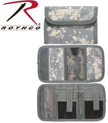 Army Digital Camouflage High Quality Deluxe Tri-Fold ID Wallet Rothco 11640
