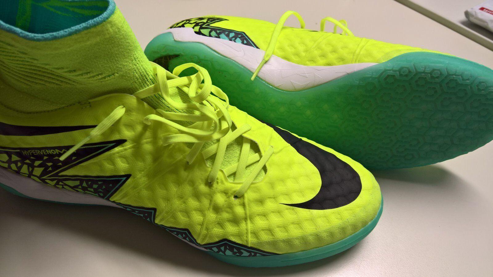 Nike hypervenom x próximo II Street IC   44,5   amarillo   halle   zapatos de fútbol