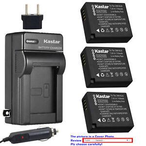 Kastar Viaje Cargador De Batería Para Panasonic DMW-BLE9 DMW-BLG10 & Lumix DC-GX9