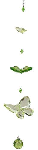Fensterdeko Dekohänger Hängedeko Acrylhänger Schmetterling aus Acryl grün 50 cm