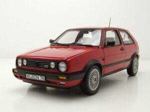 VW-GOLF-2-GTI-1990-Rosso-modello-di-auto-1-18-NOREV