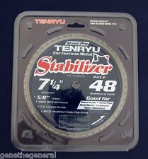 "Tenryu Steel Pro Metal Cutting Saw Blade 7 1/4"" X 48 Teeth Prf-18548bwk"