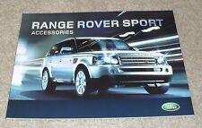 RANGE Rover Sport Accessories OPUSCOLO 2007