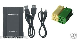 Interfaccia-USB-Sd-mp3-Citroen-C1-Peugeot-107-Toyota-Aygo