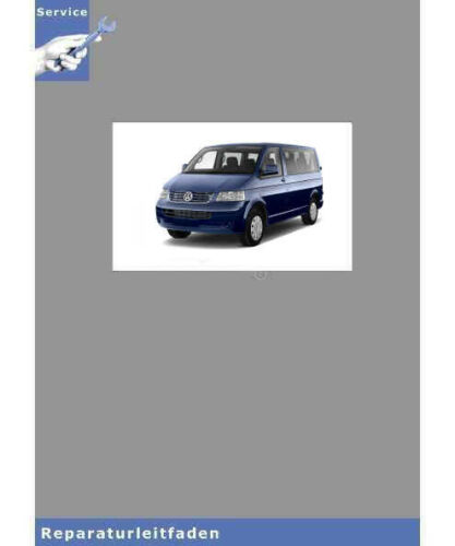 Reparaturanleitung VW Transporter//Bus T5 2,5l Dieselmotor TDI 5-Zyl 03-15