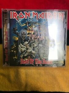 Iron-Maiden-Best-Of-The-Beast-CD-Out-Of-Print-US-Columbia-Record-Club-Version