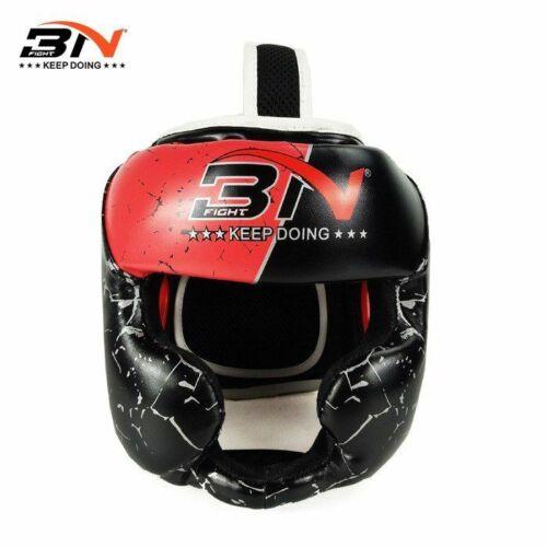 Kids Boxing Helmet Head Protector Sanda Muay Thai MMA Martial Arts Fight Karate