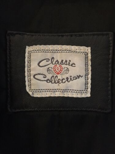 Classic Mens L Jacket Size Collection Leathermaster Vgc Black Lined Leather 4PxdqwSfnv